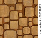 geometric wooden blocks  ... | Shutterstock . vector #230940427