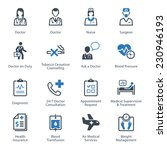 medical   health care icons set ... | Shutterstock .eps vector #230946193