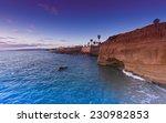 San Diego Beach Sunset Cliffs