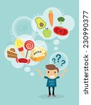 vector cartoon character of a... | Shutterstock .eps vector #230990377