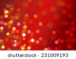 christmas bokeh background | Shutterstock . vector #231009193