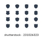 shield shape icons
