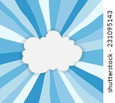 abstract cloud background with... | Shutterstock .eps vector #231095143