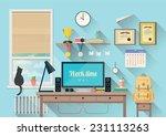 vector illustration of  modern...   Shutterstock .eps vector #231113263