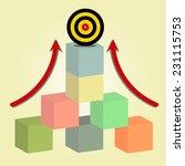 goal target    Shutterstock .eps vector #231115753