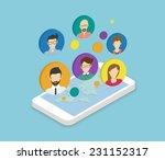 isometric illustration of... | Shutterstock .eps vector #231152317