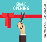 grand opening | Shutterstock .eps vector #231206563