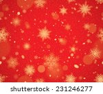 snowflakes seamless background  ... | Shutterstock .eps vector #231246277