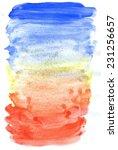 grunge painted paper texture ... | Shutterstock . vector #231256657