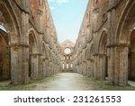 cistercian convent built in the ... | Shutterstock . vector #231261553