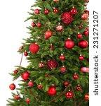 Decorated Christmas Tree Close...