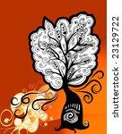 floral background   Shutterstock .eps vector #23129722