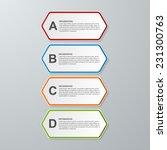 abstract hexagon business... | Shutterstock .eps vector #231300763