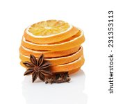 Dried Orange Slices With Anise...