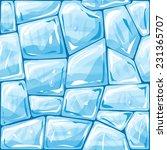 Vector Illustration Of Blue Ic...