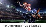 american football player in... | Shutterstock . vector #231430693