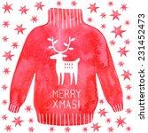 Christmas Greetings Card With...