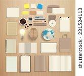 corporate identity templates ... | Shutterstock .eps vector #231524113