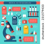 medical flat vector concept. ... | Shutterstock .eps vector #231579433