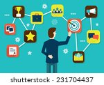 customer relationship... | Shutterstock .eps vector #231704437