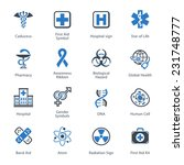 medical   health care icons set ... | Shutterstock .eps vector #231748777