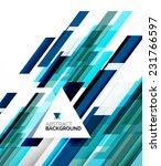 abstract flyer brochure... | Shutterstock . vector #231766597