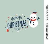 christmas | Shutterstock .eps vector #231798583