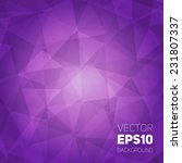 vector trendy and modern... | Shutterstock .eps vector #231807337