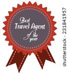 vector promo label of best... | Shutterstock .eps vector #231841957