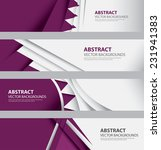 abstract qatari flag background ... | Shutterstock .eps vector #231941383