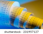 the computational stripes of a... | Shutterstock . vector #231957127