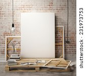 mock up posters frames and... | Shutterstock . vector #231973753