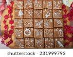 advent calendar  christmas... | Shutterstock . vector #231999793