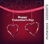 valentines day  | Shutterstock . vector #232032073