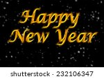 background happy new year | Shutterstock . vector #232106347