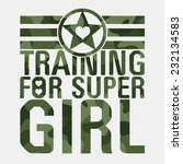 Training Girl Military...