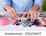 fashion design  close up | Shutterstock . vector #232150657