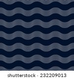 seamless wave pattern of... | Shutterstock .eps vector #232209013