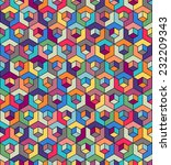 seamless pattern of... | Shutterstock .eps vector #232209343