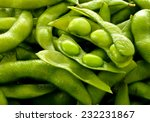 Close By Japanese Green Soybeans