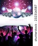 New Year Shiny Party Disco...