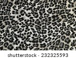 grey and black leopard pattern. ... | Shutterstock . vector #232325593
