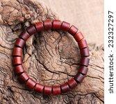 lobular red sandalwood prayer... | Shutterstock . vector #232327297