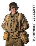 Постер, плакат: American military medic of