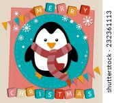 merry christmas and happy new... | Shutterstock .eps vector #232361113