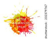 colorful abstract background.... | Shutterstock .eps vector #232379767