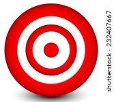 red target | Shutterstock .eps vector #232407667