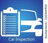 car inspection   Shutterstock .eps vector #232444903