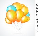 color glossy multicolored... | Shutterstock . vector #232459903