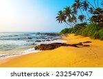 Ocean Coast Of Sri Lanka In Th...